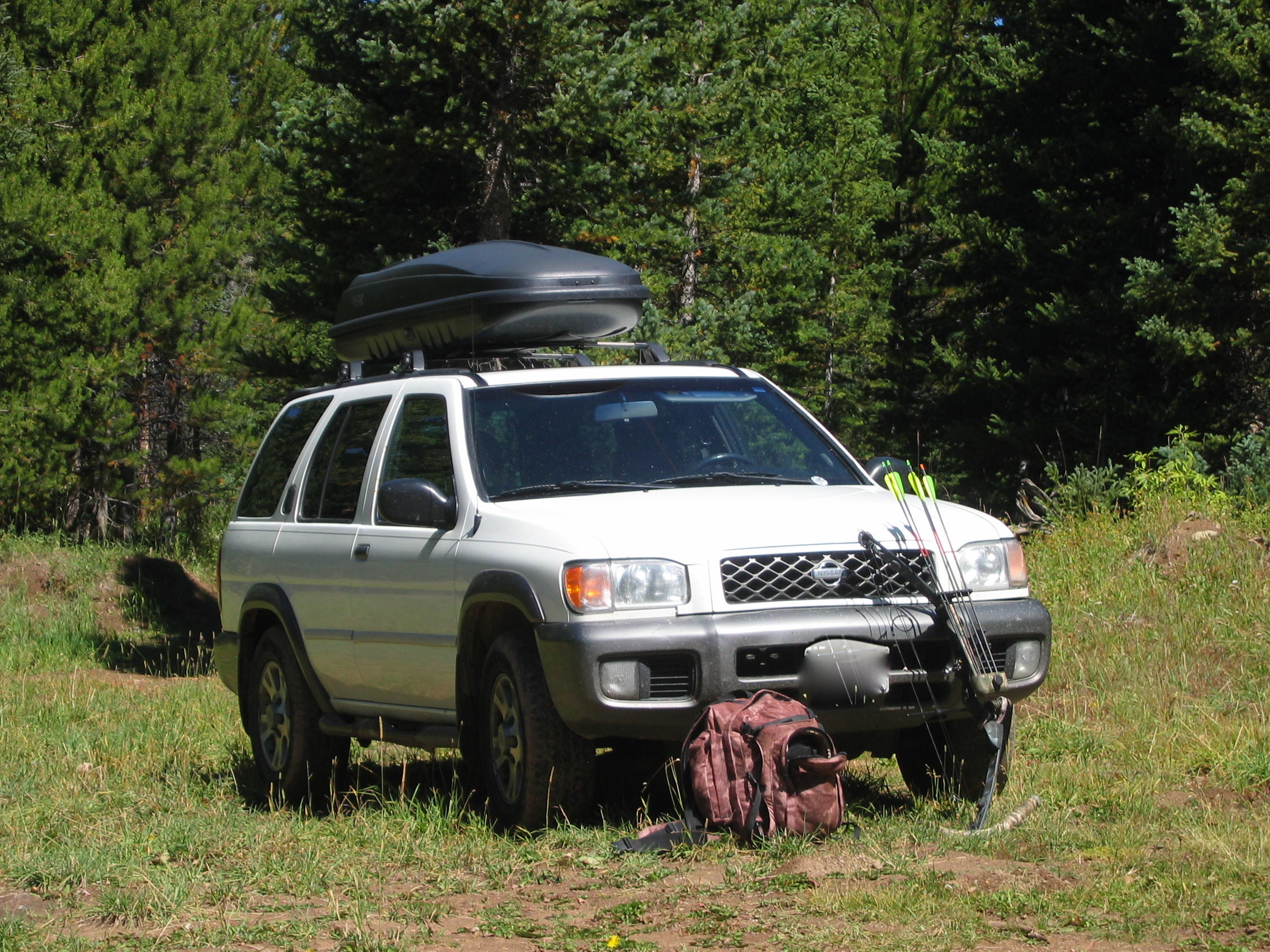 An epitaph to a white 2001 nissan pathfinder the year of living by vanachro Image collections
